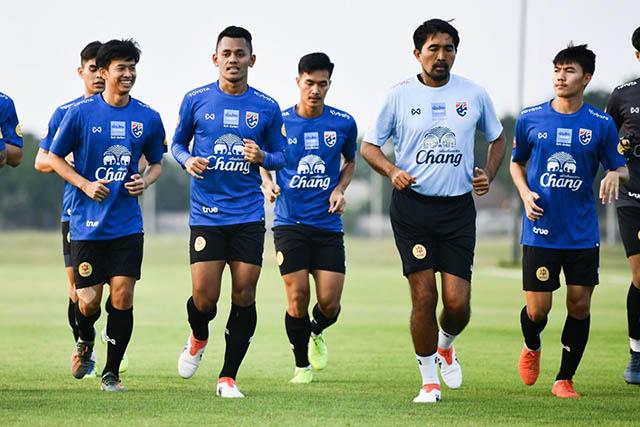 U23 Thái Lan đang tập luyện để hướng đến mục tiêu HCV SEA Games 2019
