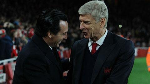 Wenger từ chối bàn về tương lai của Emery tại Arsenal