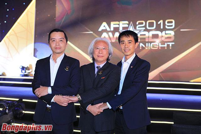 Tổng biên tập báo Bóng đá Nguyễn Văn Phú đến dự AFF Awards 2019 - Ảnh: Đức Cường