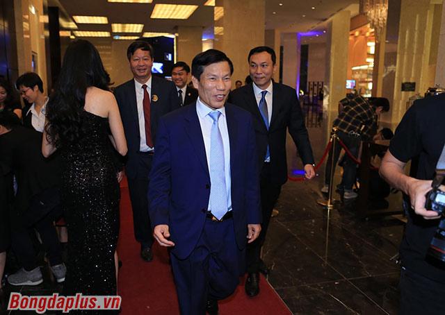 Bộ trưởng Nguyễn Ngọc Thiện đến dự - Ảnh: Đức Cường