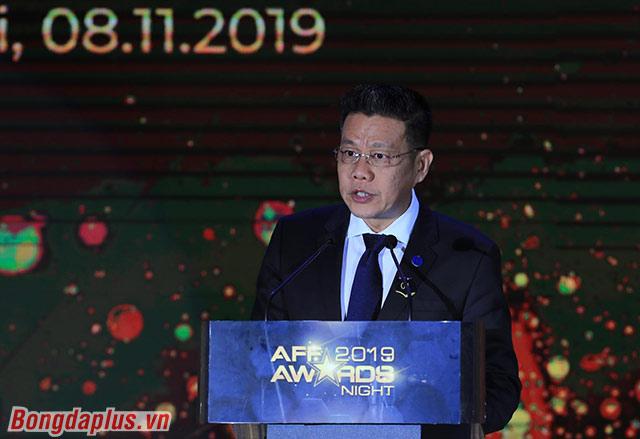 Chủ tịch AFF đánh giá cao thành công của bóng đá Việt Nam - Ảnh: Đức Cường