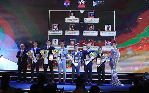Văn Lâm, Ngọc Hải và Quang Hải lọt vào Đội hình tiêu biểu của Đông Nam Á - Ảnh: Đức Cường