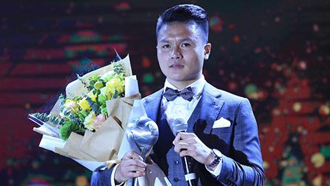 Việt Nam bội thu giải thưởng trong lễ trao giải AFF 2019