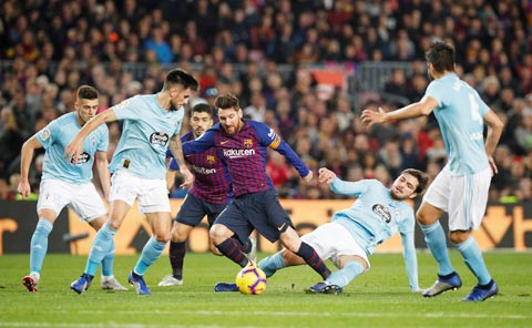 Messi sẽ giúp Barca lấy lại ngôi đầu từ tay Sociedad?