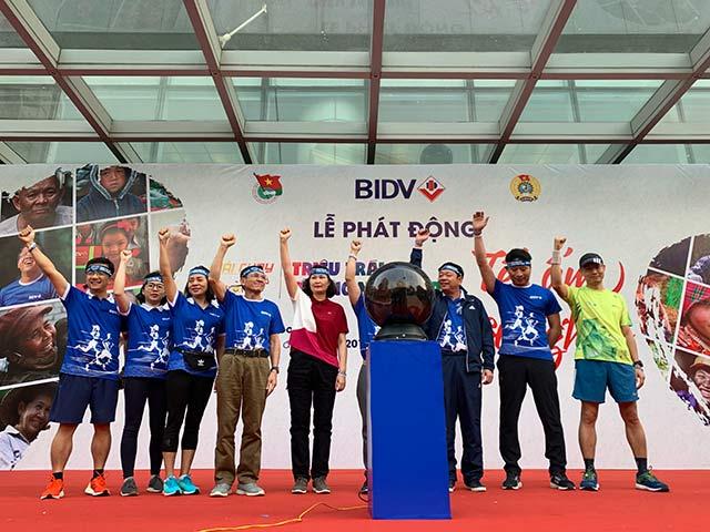 Giải chạy có tên gọi là Nụ cười BIDV - Tết ấm cho người nghèo. Đây là sự kiện nhằm khích lệ tinh thần thể thao cũng như hành động vì người nghèo trong cộng đồng