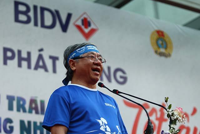 Theo ông Trần Xuân Hoàng, Phó Tổng giám đốc, Chủ tịch Công đoàn BIDV, Trưởng Ban chỉ đạo giải chạy thì đây là một hoạt động nhằm phát huy tinh thần lá lành đùm lá rách của dân tộc