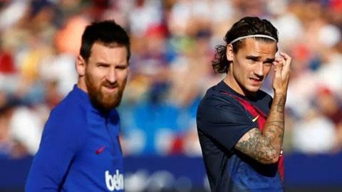 Valverde có cách kết nối Messi và Griezmann