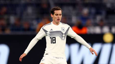 ĐT Đức triệu tập: Rudy bất ngờ trở lại, Can bị treo giò vẫn có mặt