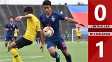 U19 Thái Lan 0-1 U19 Malaysia