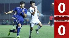 U19 Việt Nam 0-0 U19 Nhật Bản
