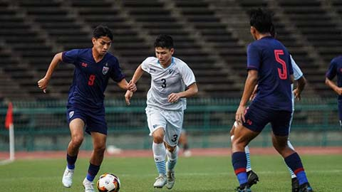 U19 Lào gây sốc, U19 Thái Lan bị loại cay đắng