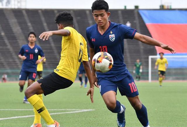 U19 Thái Lan bị loại sau khi thua Malaysia