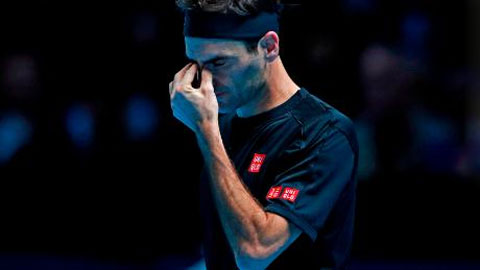 Federer thua trận mở màn ATP Finals 2019