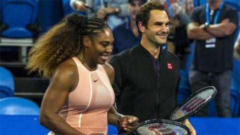 Serena hết lời ngợi khen Federer dai sức