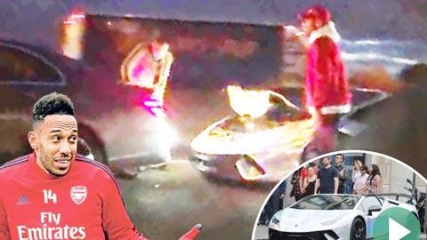 Hậu trường sân cỏ 11/11: Aubameyang gặp tai nạn xe hơi