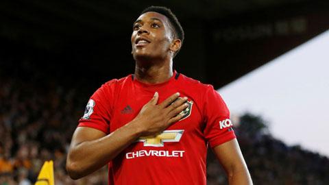 Martial truyền cảm hứng cho Man United