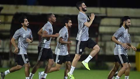ĐT UAE chơi kiểu quý tộc trước trận đấu với ĐT Việt Nam