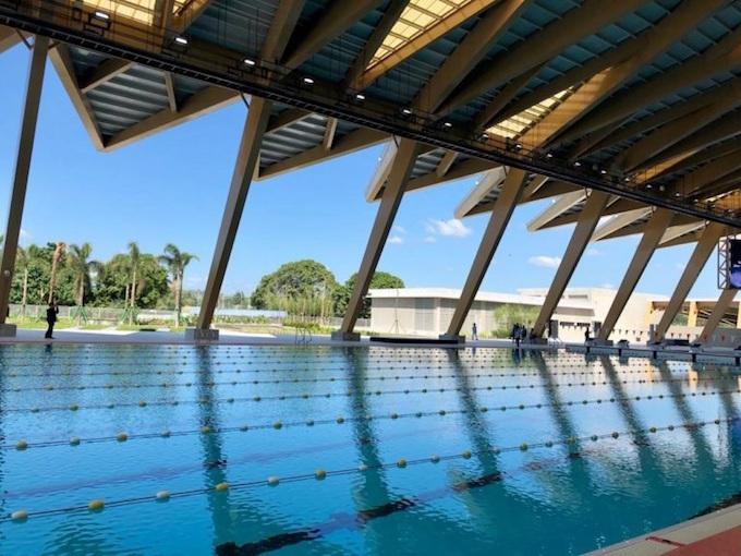 Trung tâm thể thao dưới nước Clark City, nơi diễn ra môn bơi