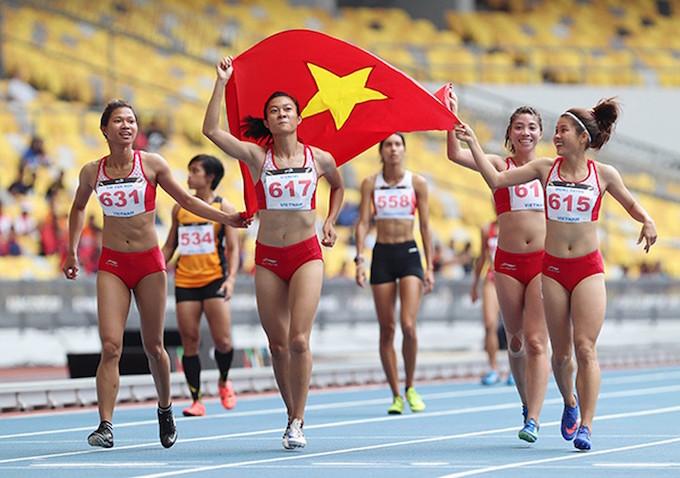 Thể thao Việt Nam ngày càng phát triển mạnh mẽ ở đấu trường SEA Games