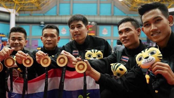 Thái Lan là đoàn thể thao được đánh giá mạnh nhất Đông Nam Á