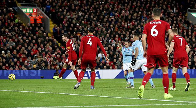 Bernardo Silva ghi bàn duy nhất cho Man City
