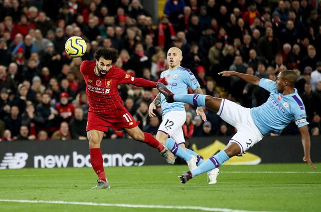 Salah nhân đôi cách biệt cho Liverpool