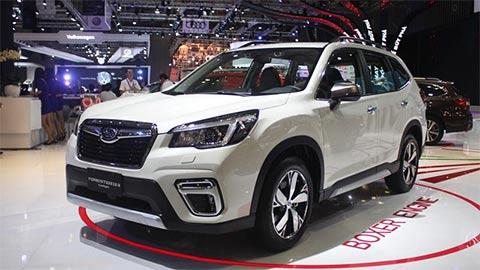 Subaru Forester giảm giá mạnh 'đe nẹt' Hyundai Santa Fe 2019, Honda CR-V