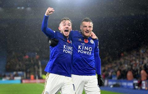 Leicester đang thi đấu thăng hoa