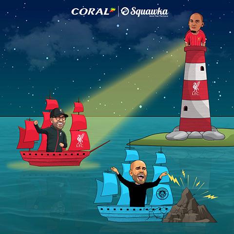 Fabinho là hải đăng của Liverpool