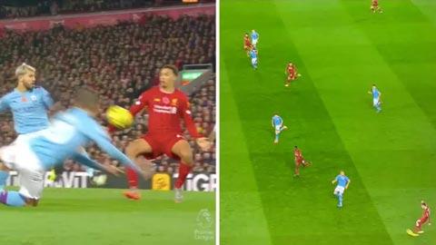 VAR giúp Liverpool có được bàn thắng?