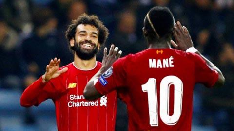 Salah và Mane thăng hoa rực rỡ khi thi đấu trên sân Anfield