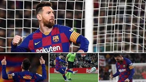 """Messi đang đạt hiệu suất """"khủng"""" nhất sự nghiệp"""