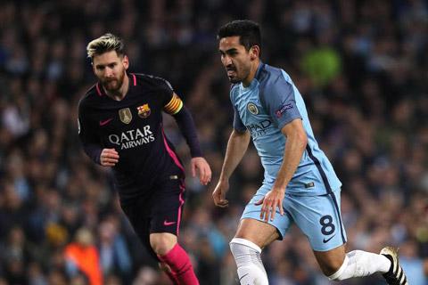 Guendogan đánh giá Messi vĩ đại nhất lịch sử