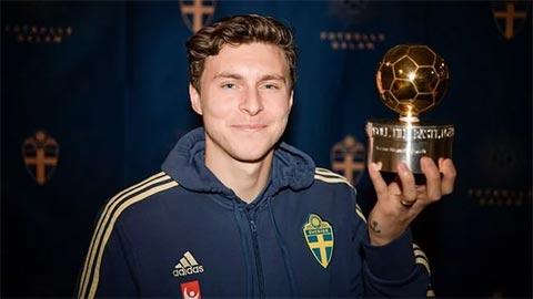 Lindelof đoạt Quả bóng Vàng Thụy Điển 2019