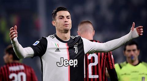 Ronaldo đối mặt với nguy cơ bị treo giò ở Serie A