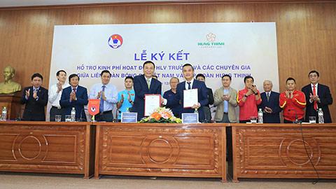VFF công bố đơn vị hỗ trợ trả lương cho HLV Park Hang Seo