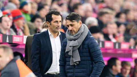 Chưa tìm được người thay Kovac, thượng tầng Bayern lại xáo trộn