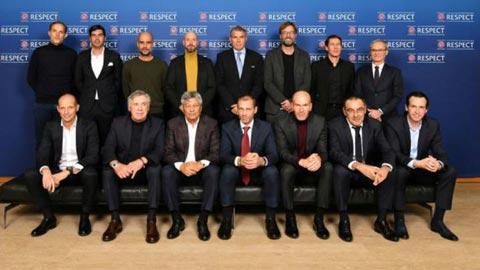 Các HLV hàng đầu đang dự hội nghị của UEFA để bàn về VAR