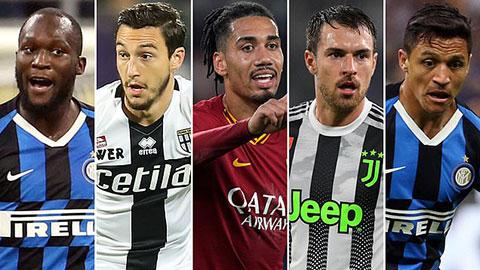 10 sao Ngoại hạng Anh đến Serie A thi đấu trong Hè 2019 giờ thế nào?