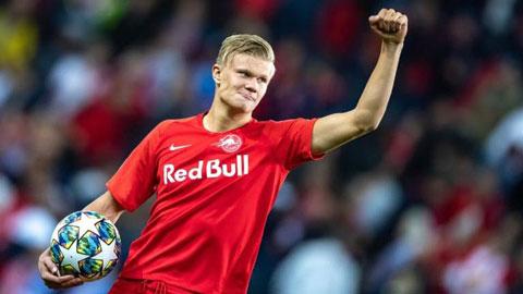 Barca bỏ cuộc vụ Haaland do bị RB Salzburg 'tống tiền'
