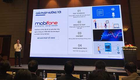Đại diện Mobifone chia sẻ giải pháp công nghệ mới hỗ trợ báo chí