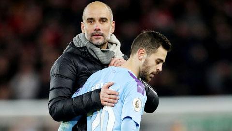 Man City kém Liverpool 9 điểm: 'Tác hại' của Guardiola
