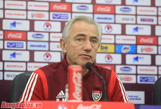 HLV Van Marwijk không muốn nhắc đến thất bại trước Việt Nam của UAE ở Asian Cup 2007 - Ảnh: Phan Tùng