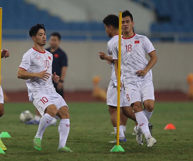 Tiền đạo mang áo số 10 của Việt Nam chờ đợi có bàn thắng đầu tiên ở vòng loại World Cup 2022
