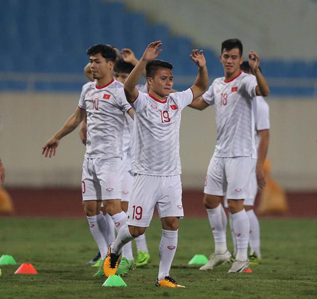 Trong khi đó, với phong độ ấn tượng, Quang Hải vẫn nhận được kỳ vọng sẽ tỏa sáng trước UAE