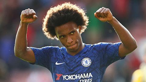 Willian có thể rời Chelsea gia nhập Juventus