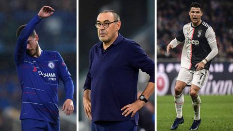 Sarri đang trị 'bệnh sao' của Ronaldo như từng làm với Hazard