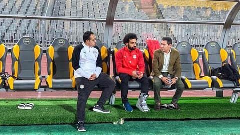 CĐV Liverpool ngán ngẩm khi thấy Salah đeo đồ bảo hộ ở chân