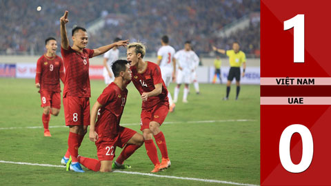 Việt Nam 1-0 UAE(Bảng G - Word Cup 2022)