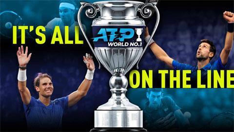 """""""Người phán xử"""" Federer và cuộc đua đến ngôi số 1 thế giới của Nadal-Djokovic"""